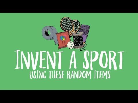 4 Maker Challenge Invent A Sport Using These Random Items Youtube Design Thinking Education Design Challenges Design Thinking