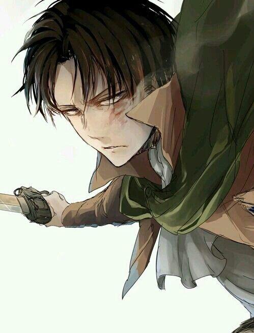 Shingeki no Kyojin   Attack On Titan   Levi Ackerman   Rivaille   Anime   Boy   Badass   Heichou   Art