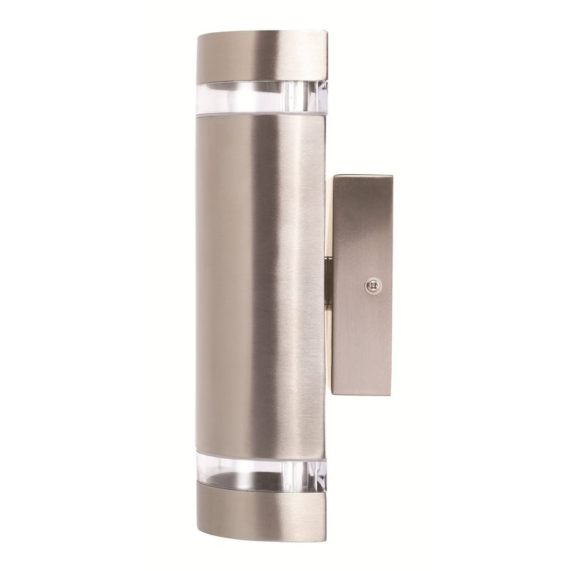 Bunnings Lights Outdoor Brilliant 35w stainless steel kimberley up down exterior wall light brilliant 35w stainless steel kimberley up down exterior wall light in 7070756 bunnings workwithnaturefo