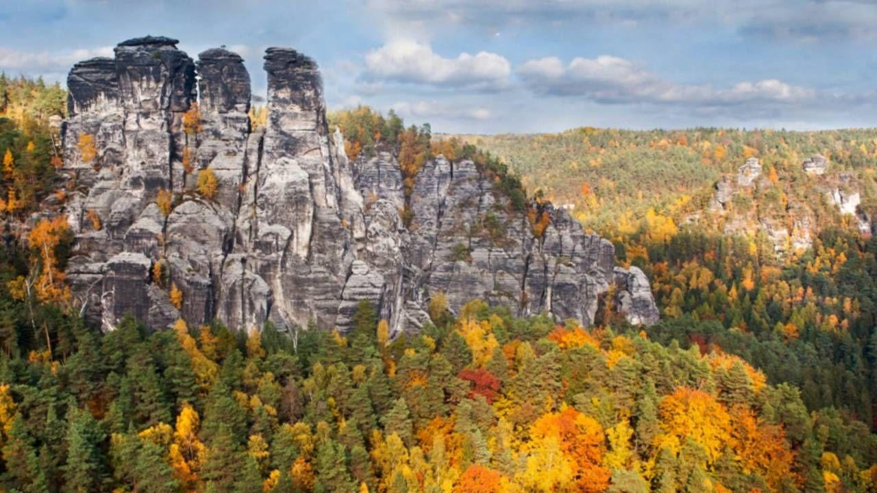 Saxon Switzerland in Autumn. Jenny Rainbow Fine Art Photography