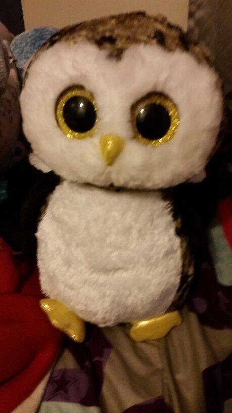 312af08f655 Rare beanie boo named owliver hes so cute  -P  -P  -P