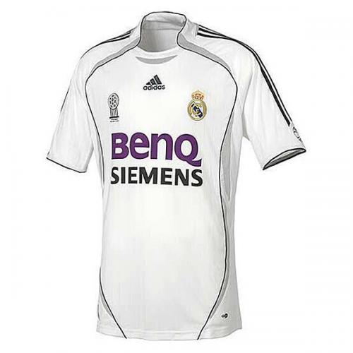 2b160d2f33d 06-07 Real Madrid Home Retro Soccer Jersey Shirt