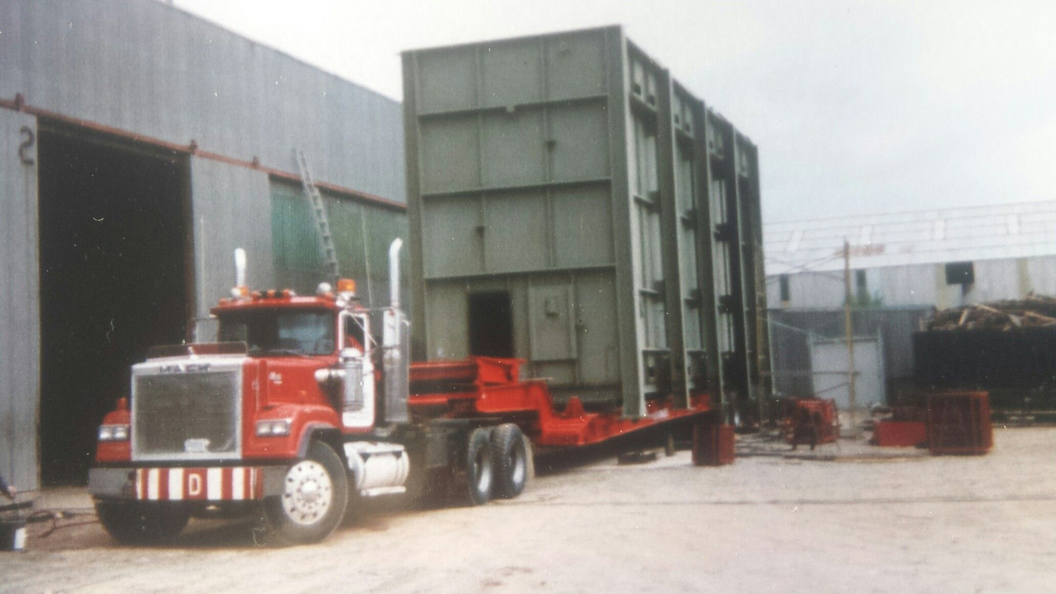 Original mamoet Calgary to dow chemical ft sask 1992