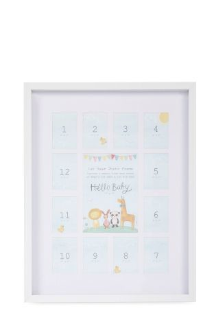 Buy Baby 1st Year Frame from the Next UK online shop | @giftryapp ...