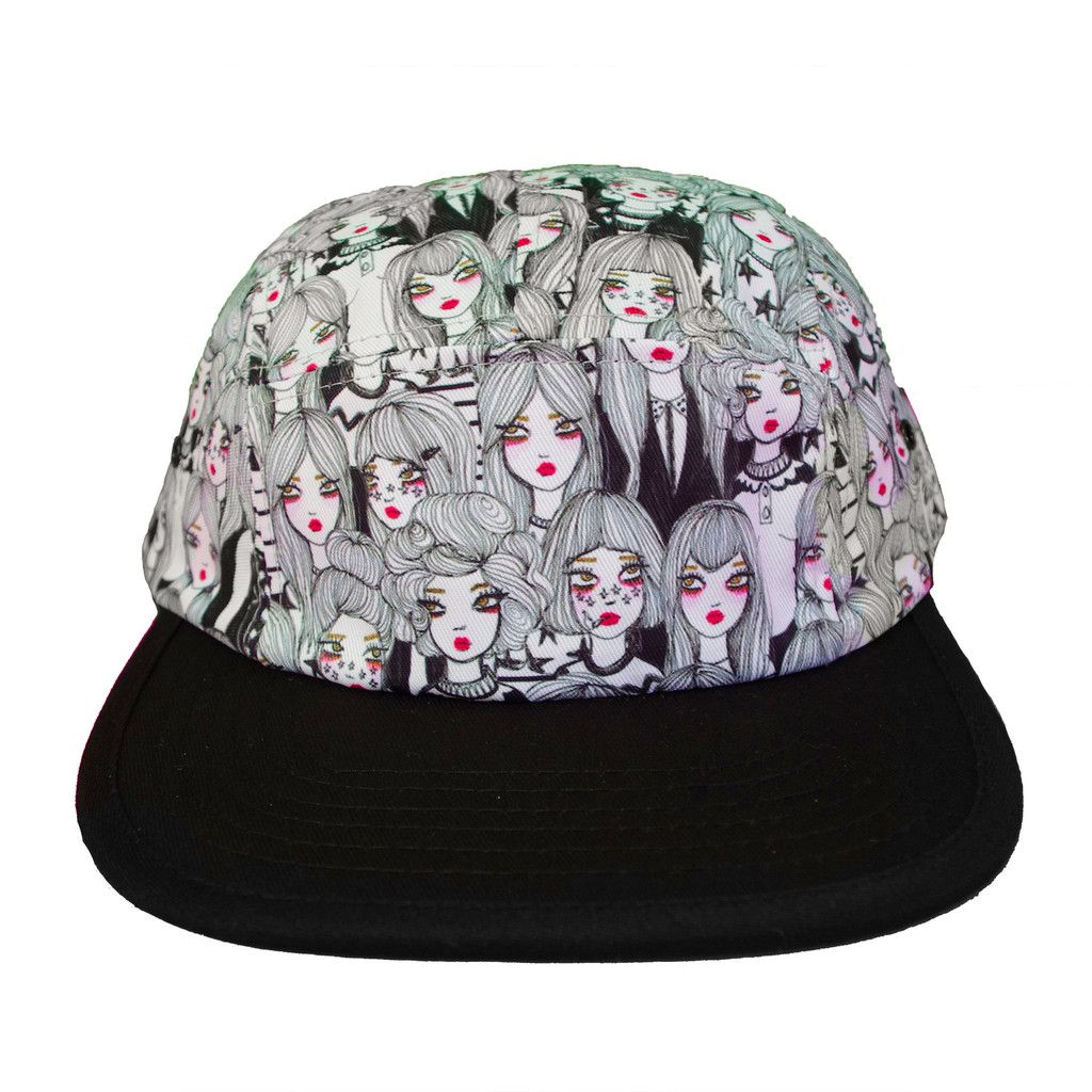 Ghost 5Panel Hat By Valfre Valfré Neverland Collection
