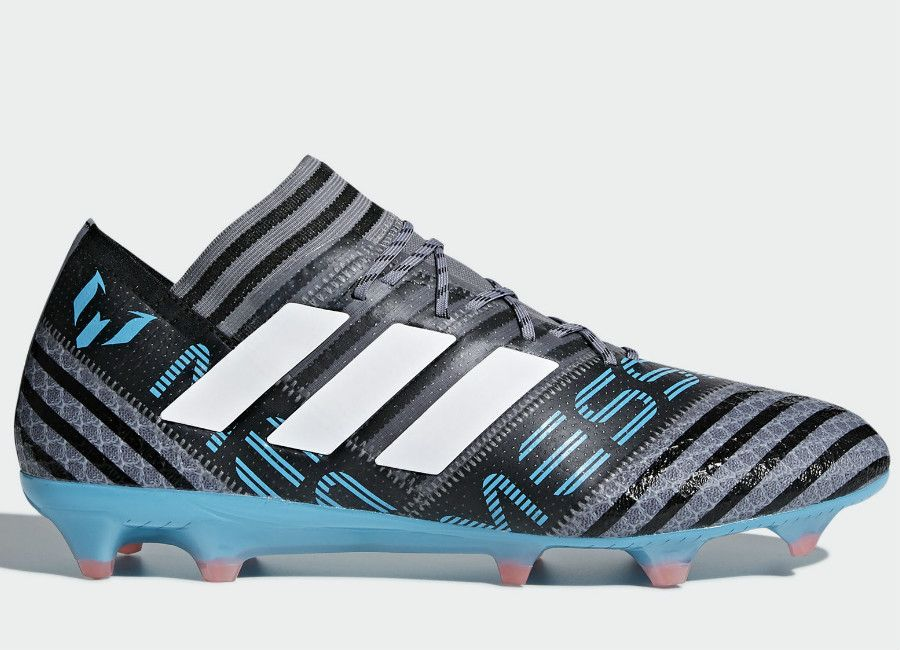 new concept 74acd 9689a  football  soccer  futbol  adidasfootball  adidassoccer Adidas Nemeziz  Messi 17.1 FG Cold Blooded - Grey   Ftwr White   Core Black