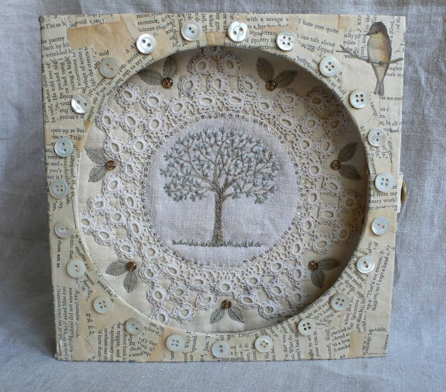 gentlework: keep a green tree in your heart..... (close-up photos in the link, it's worth to see it - amazing work!)