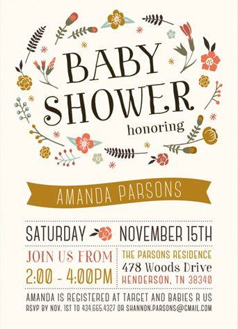 Fall themed baby shower invitations gift wrap pinterest themed fall themed baby shower invitations filmwisefo Choice Image