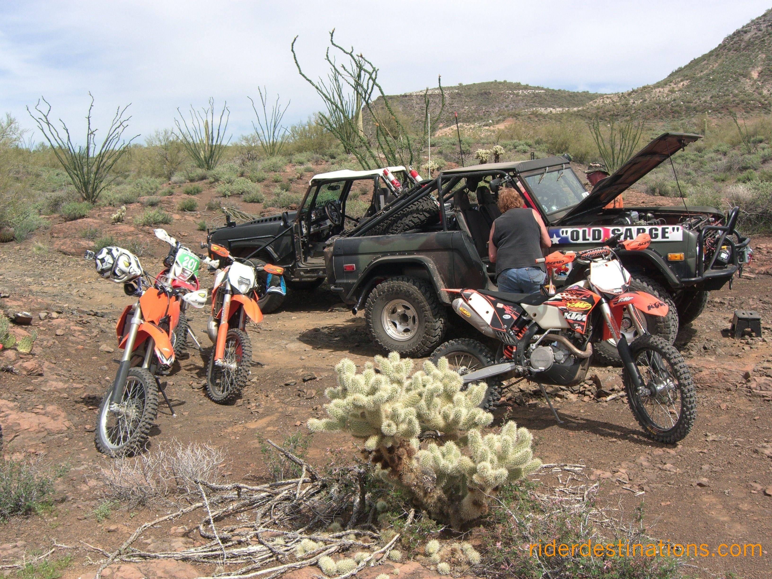 Dirtbikeryder Com Black Canyon Arizona Dirt Bikes With Broncos