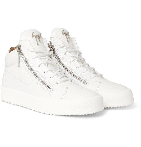 Logoball Textured-leather High-top Sneakers Giuseppe Zanotti 7inOUg