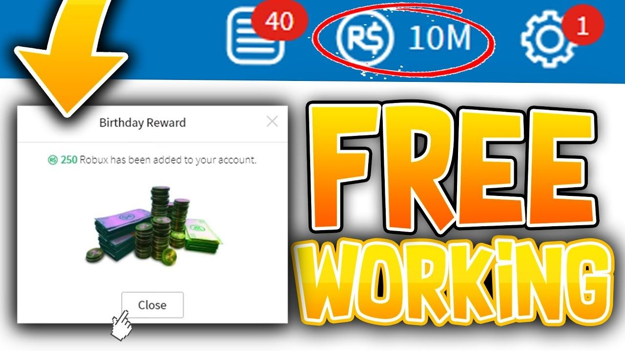 2018 New Glitch 1 Million Robux From Changing Birthday Hack