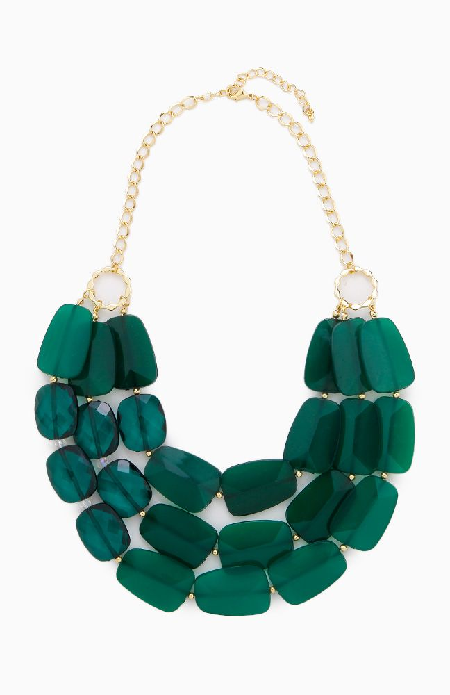 @Leah Adams I could see you rockin this! Faceted Stones Necklace