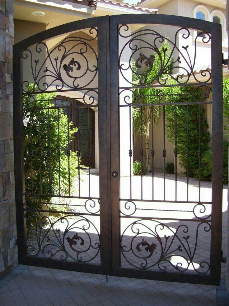 Pin de Diane Ferrari en Iron Gates | Pinterest | Herrería, Rejas y ...