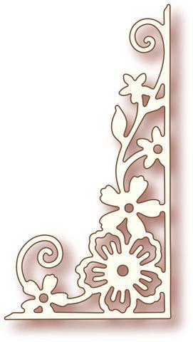 die wild rose studio corner flourish embellesedores pinterest patrones para bordar. Black Bedroom Furniture Sets. Home Design Ideas
