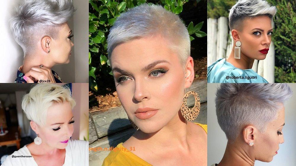 Silberblond Bei Kurzen Haaren Kurzhaar Frisuren Frisuren Stil Haar Kurze Und Lange Frisuren Silber Blond Haarfarbe Silberblond Silberblond