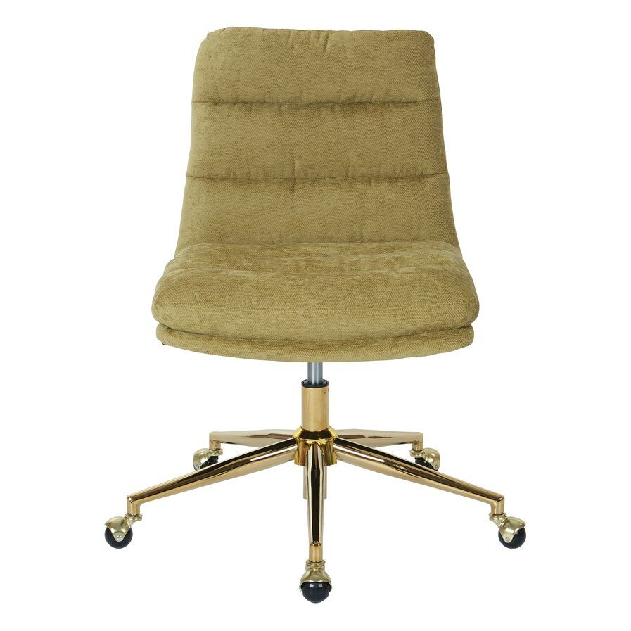 Fearon tufted midback desk chair osp home furnishings