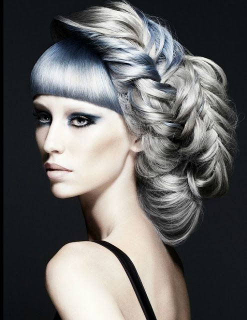 Hairstyles From The Future Creative Hair Color Bright Hair Colors Bright Hair