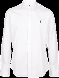 649452189384b Camisa Social Polo Ralph Lauren Masculina Branca - ESTILUXO Outlet Virtual  - Sucesso em vendas online!