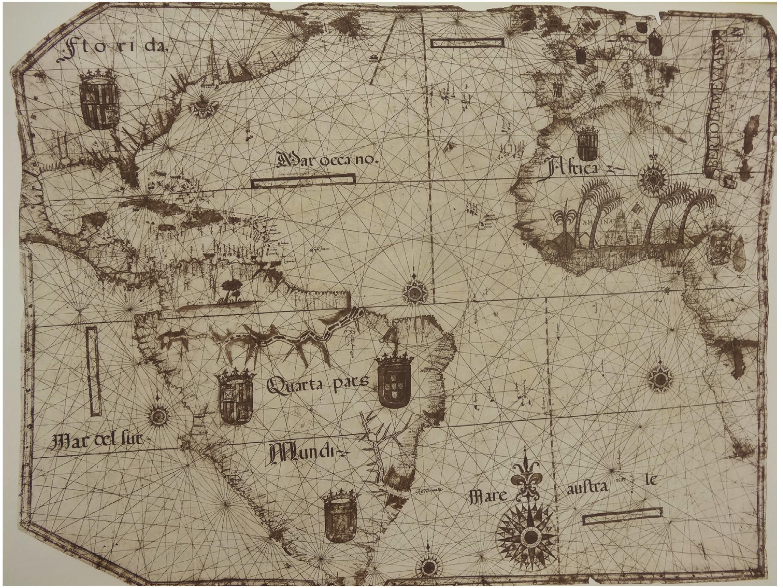 America Peruana and Oceanus Peruvianus a different
