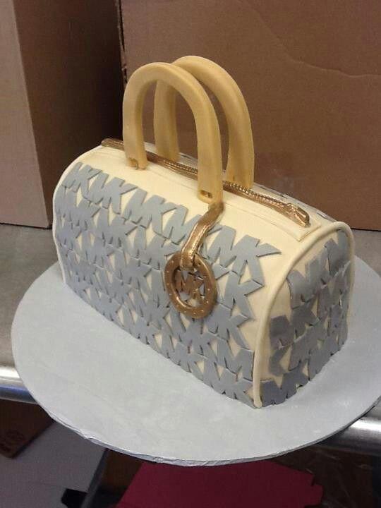 how to make a michael kors purse cake