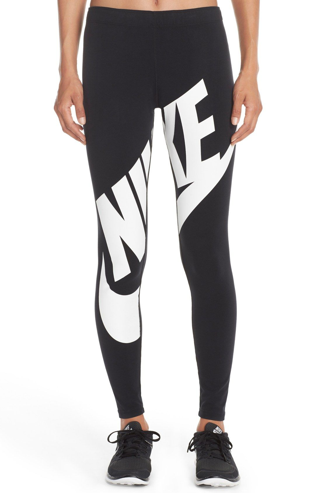 great quality best wholesaler high fashion Nike 'Leg-A-See' Exploded Logo Leggings | Nike | Nike ...