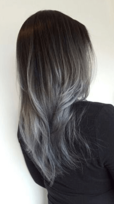 Favoriete Silver Hair Color Trend - van grijze granny tot metallic silver @VD72