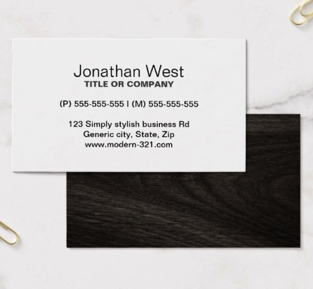 Pin On Generic Business Cards