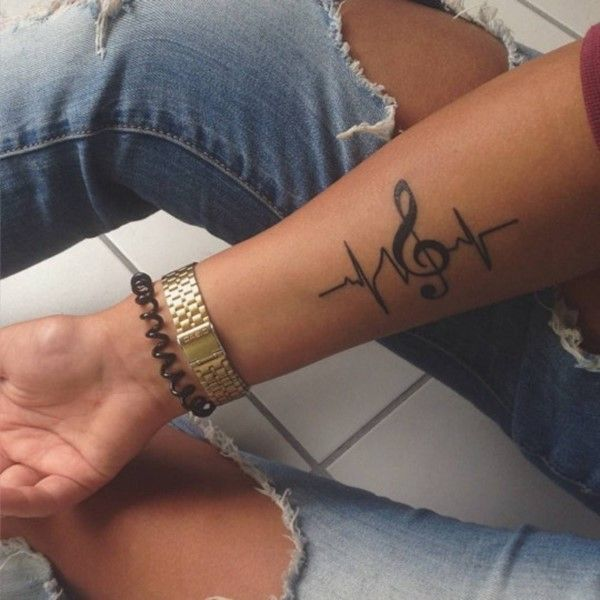 150 True Love Tattoos For Couples Ultimate Guide 2020 Music Tattoo Designs Tattoos For Guys Forearm Tattoos