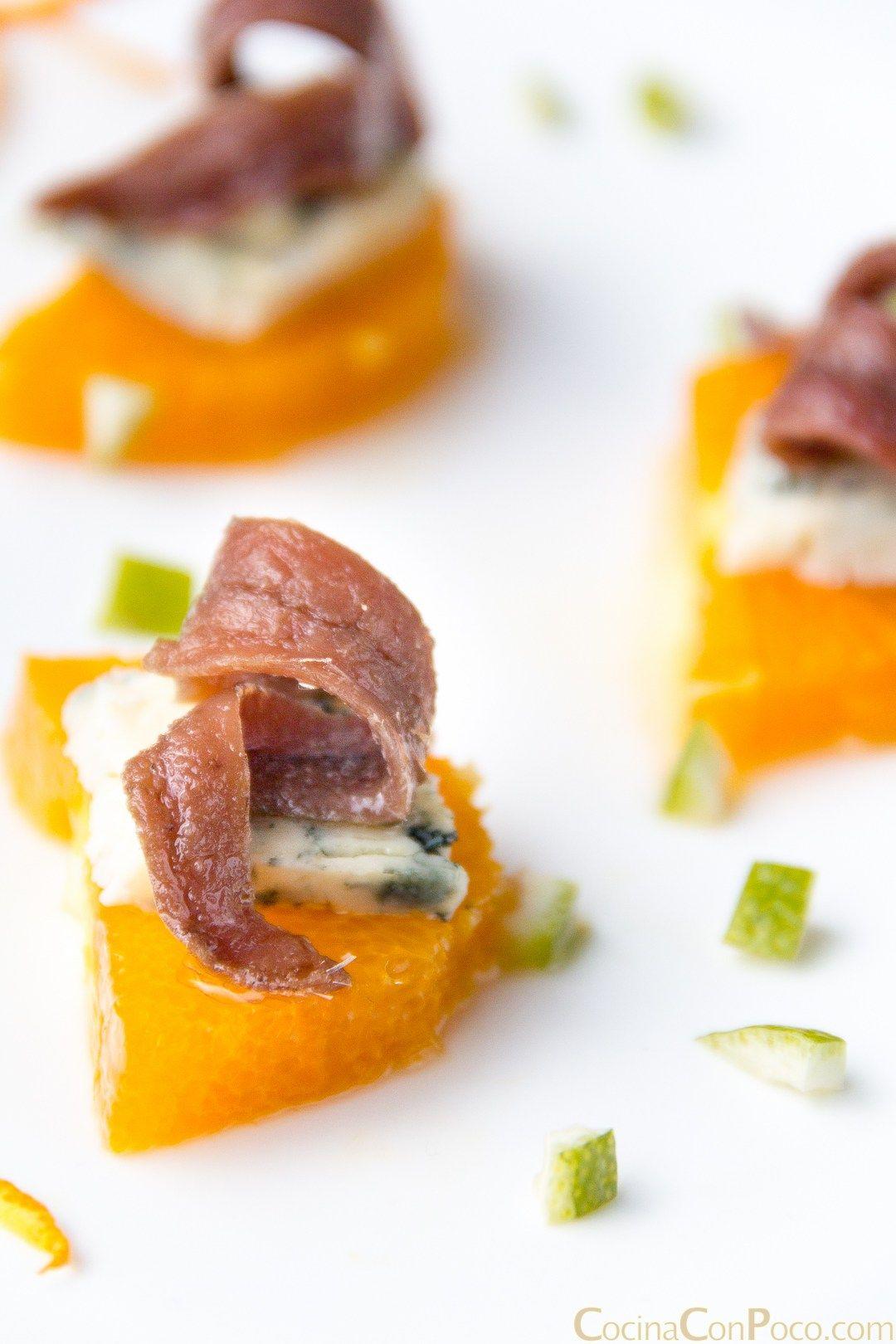 Tapa anchoa conserva f cil original bufete - Tapas originales frias ...