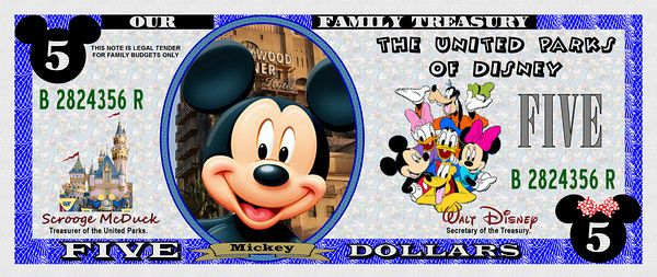photo about Disney Dollars Printable called Amusing Fiscal - WDWPSP trip Disney financial, Disney