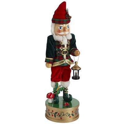 Forest Gnome Nutcracker Check Out The Ladybird And The Toadstool