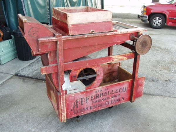 67: Antique Seed Clipper Grain & Seed Cleaner | OLD FARM MACHINERY