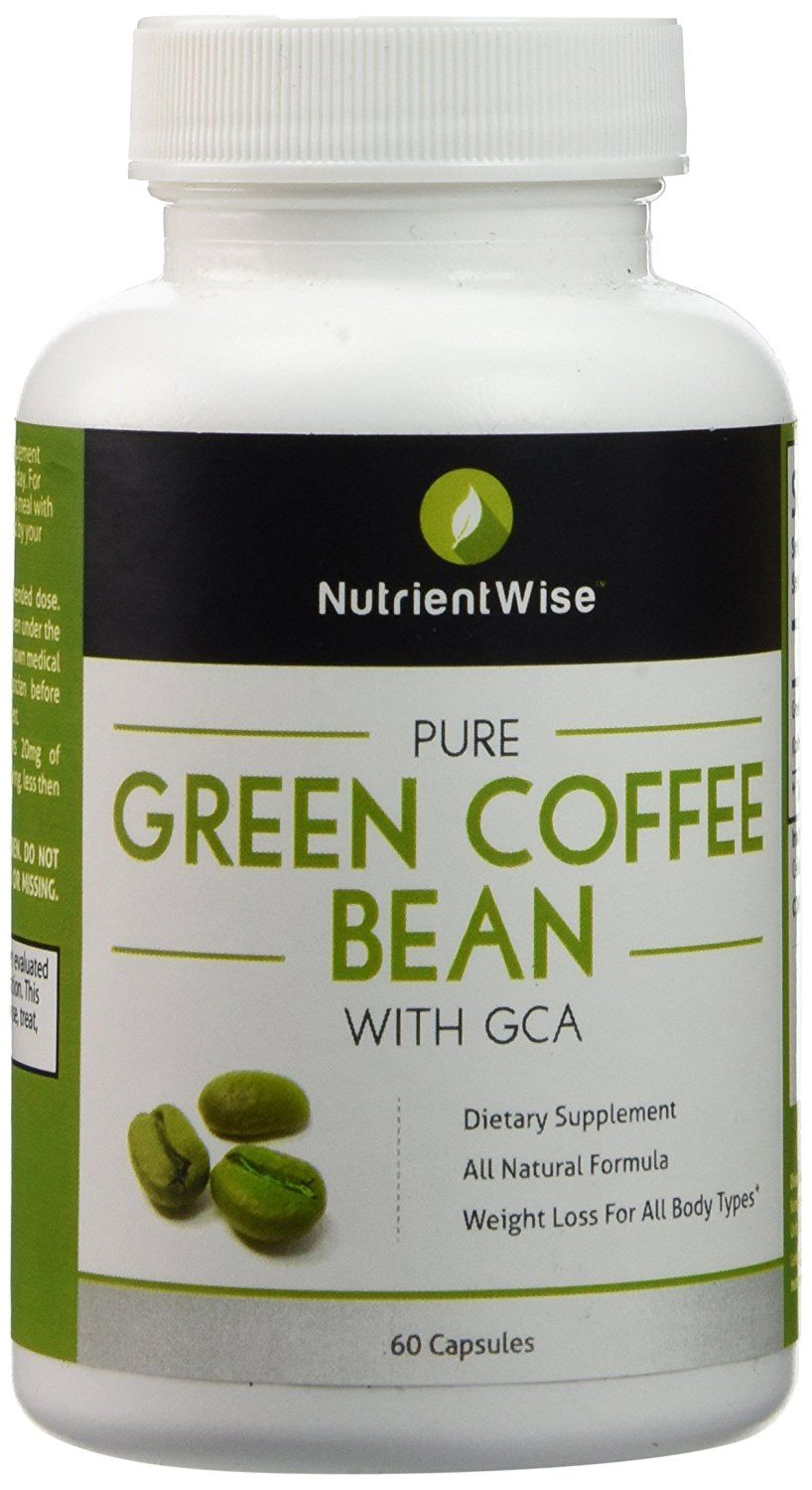 Pure Green Coffee Bean Extract Nutrient Wise Dietary