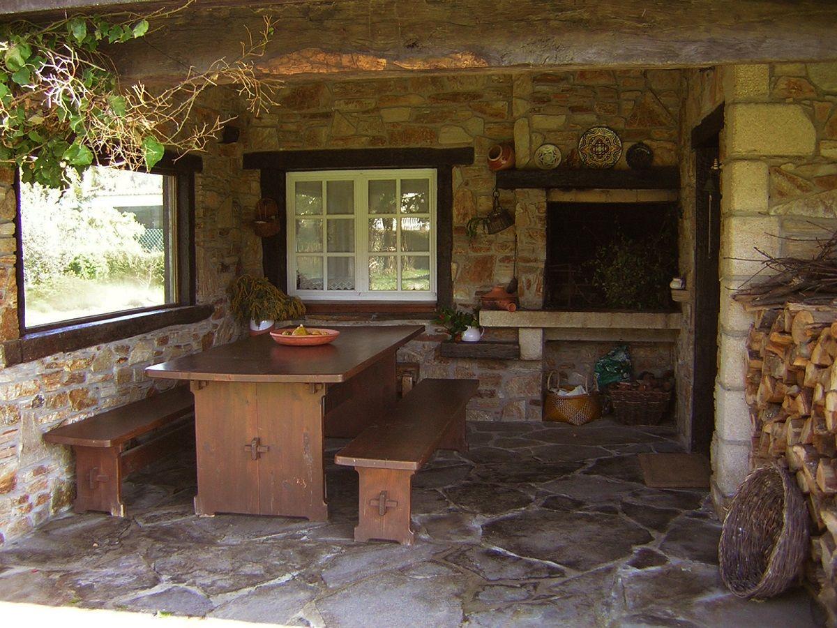 Publicaciones sobre construcciones de casas r sticas en galicia y asturias palapas - Casas de campo en galicia ...