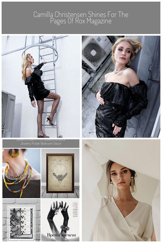 Photo of Camilla Christensen Rox Magazine Jewelry Editorial | Fashion Gone Rogue #Jewelry…