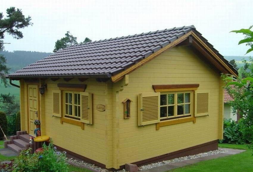Оригинальные дачные домики 11 фото   Избушка, Кабина ...