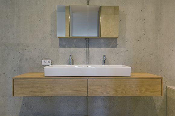 Realisatie badkamermeubel door Hubbers interieurmakers