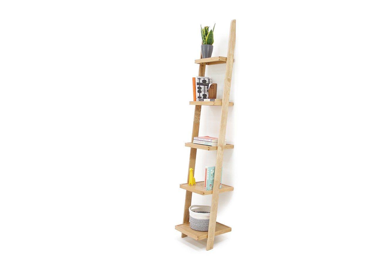 Leaning Ladder Shelf