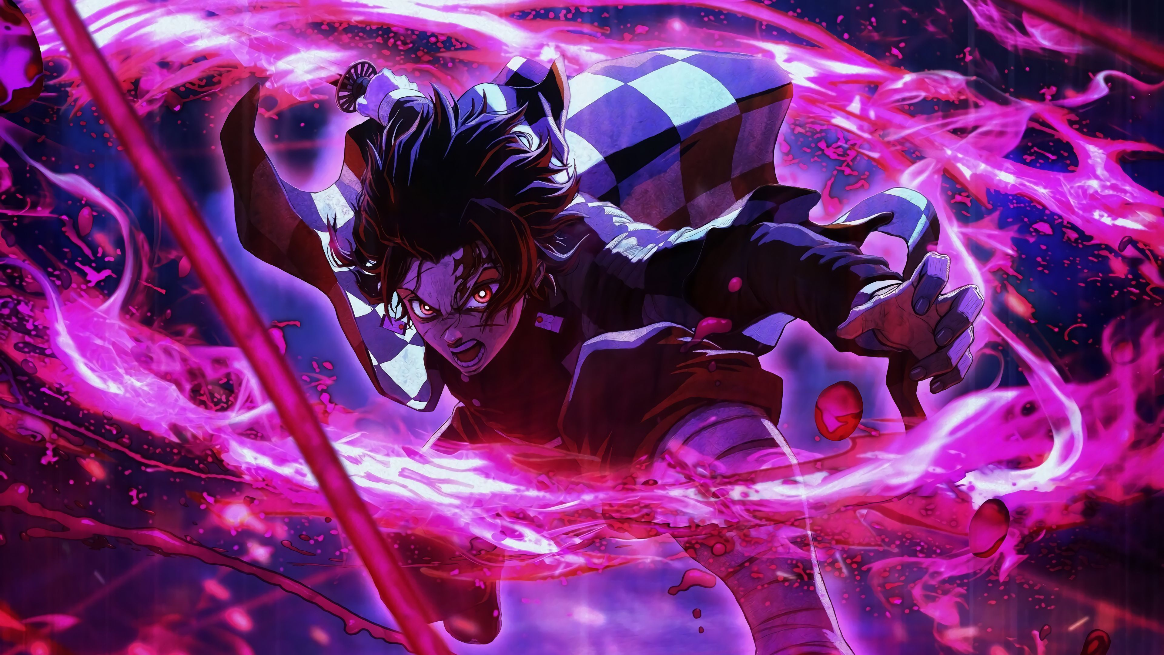 Tanjiro The Demonslayer In 2020 Cool Anime Wallpapers Hd Anime Wallpapers Anime Wallpaper