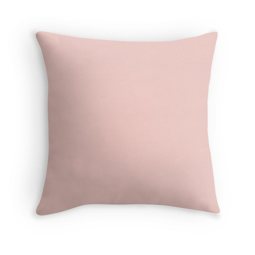 Solid Pink Pastel Rosebud Tote Bag By Podartist Pink Throw Pillows Solid Color Throw Pillows Throw Pillows