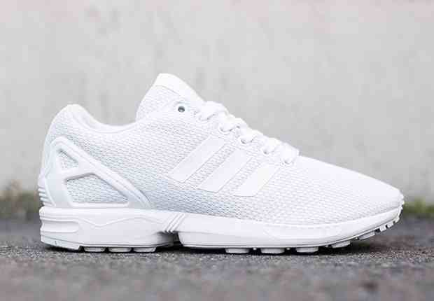 35a48bde2b31 Mens Adidas light grey zx flux weave trainers what these so bad ...