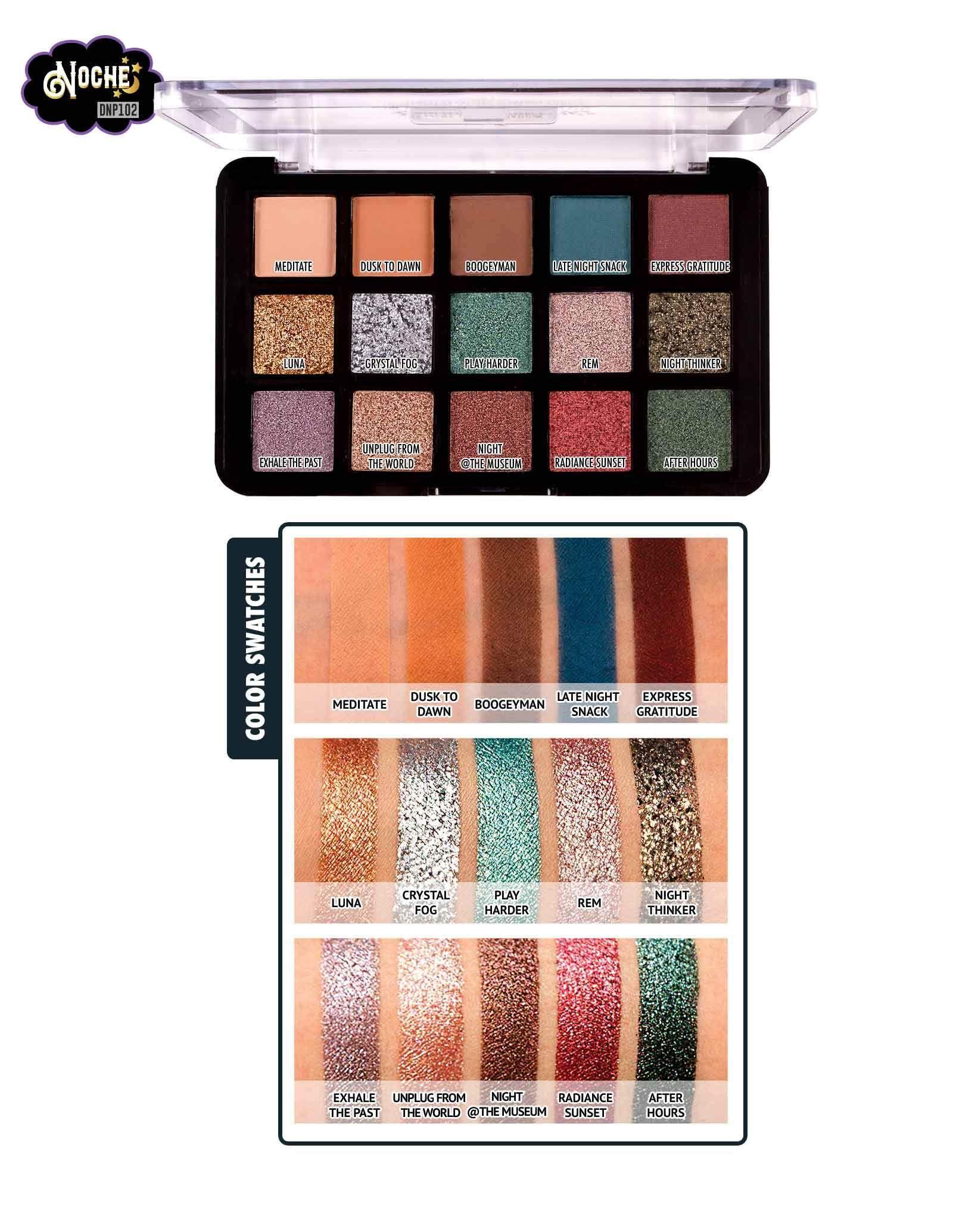 Dia&Noche TriElement 15 Eyeshadow Palette in 2020