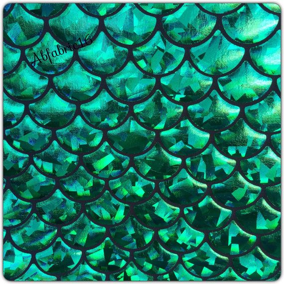 Tela de Strech Spandex del holograma de la escala de pescados ...