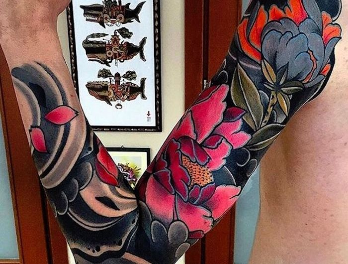 Irezumi Ou Le Tatouage Japonais Traditionnel Flower Tattoos