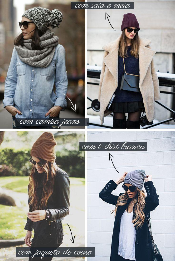 Claudia Bartelle   Estilo para o inverno, Chapéus da moda e