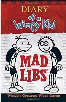 Robot Check Kids Mad Libs Wimpy Kid Books Wimpy Kid