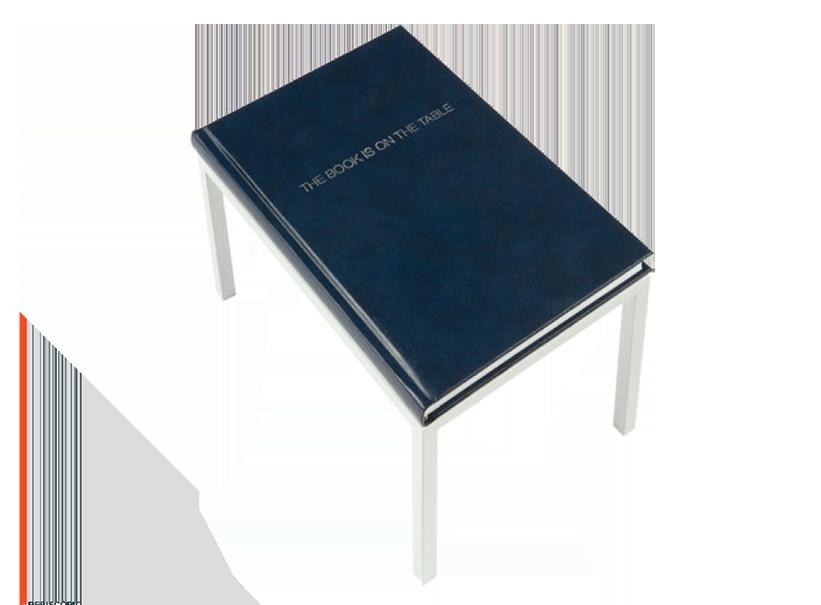 GUTO LACAZ Suporte metálico e livro cód. GLA002 FICHA