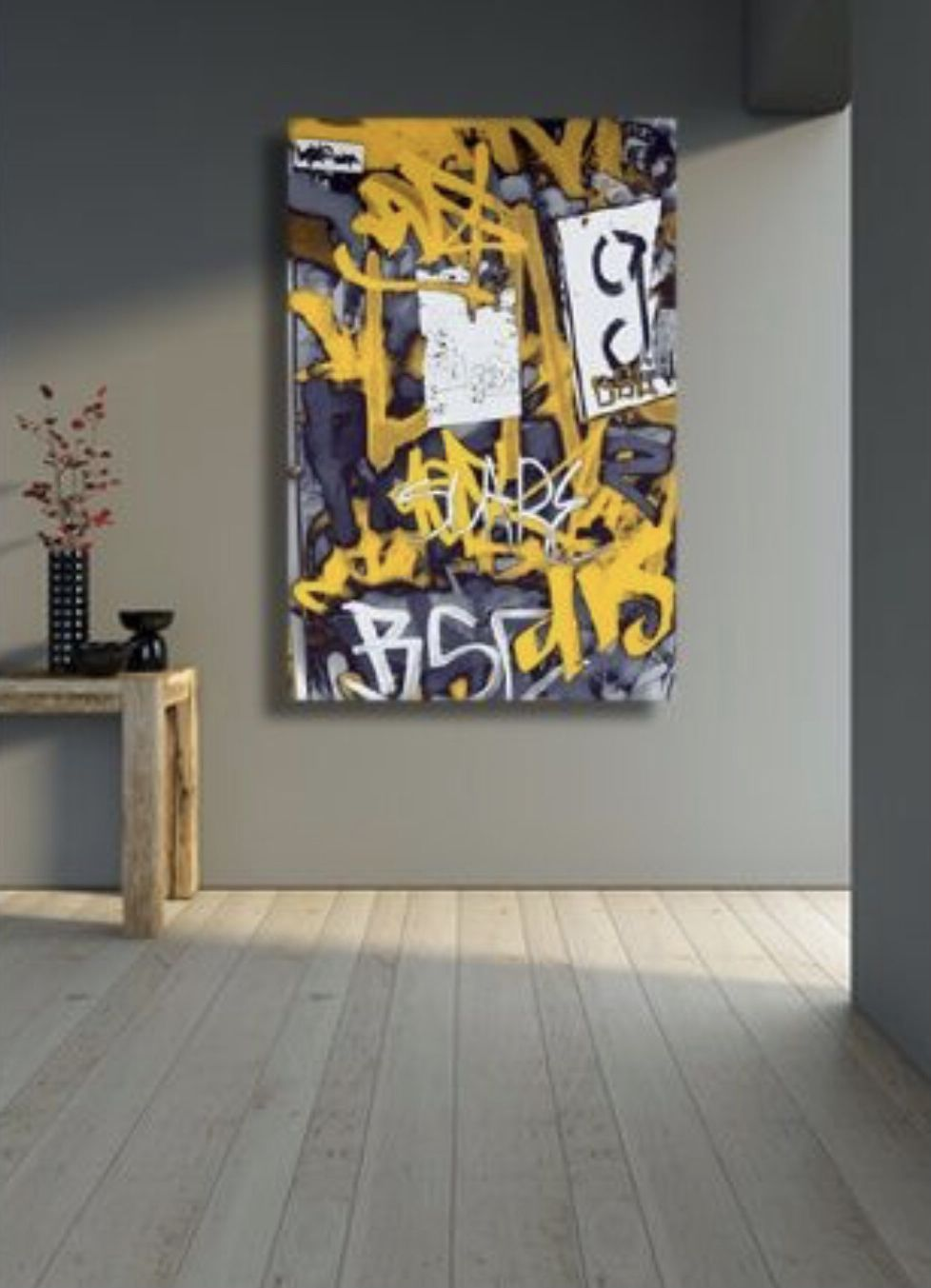 Pin By Dani Wilson On A A Another Abstraction Graffiti Canvas Art Graffiti Wall Art Interior Art