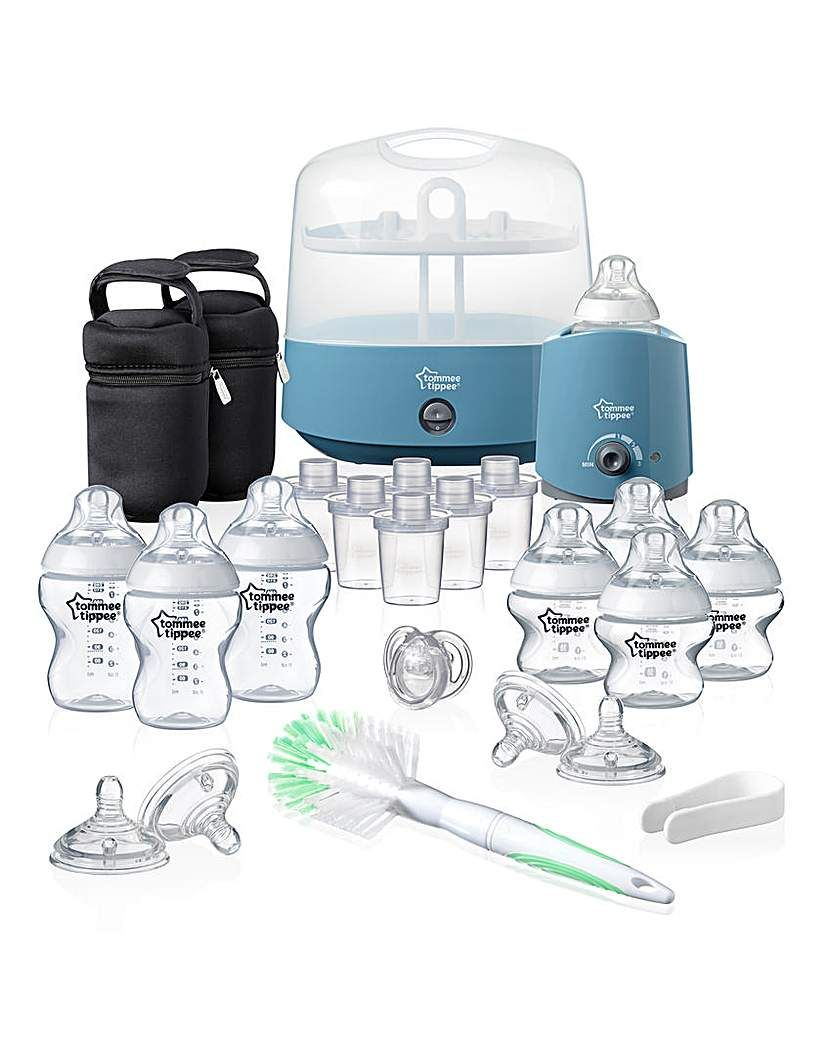 Tommee Tippee Closer to Nature Complete Feeding Set Electric Steriliser New
