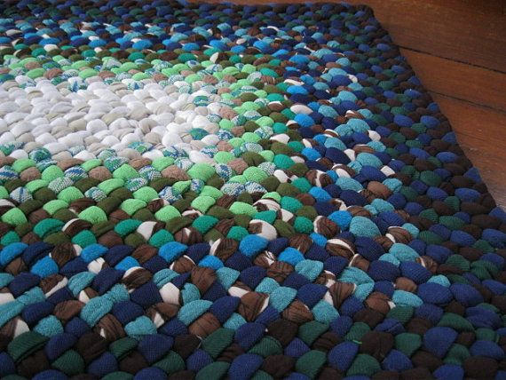 Made To Order Rectangular Braided Rug In Your Color By Mrsginther 129 00